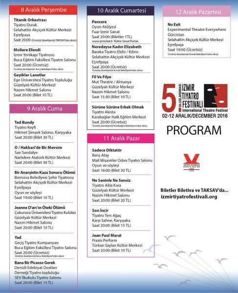 5. Festival Program