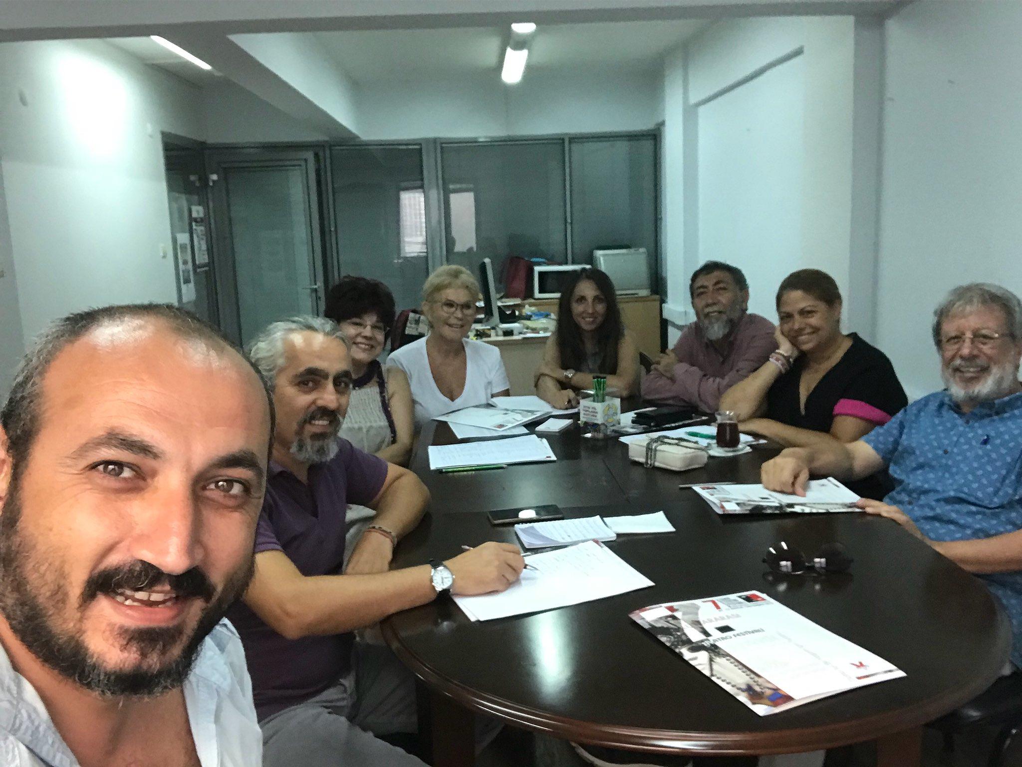 7. Tiyatro Festivali Seçici Kurul İlk Toplantısını Yaptı