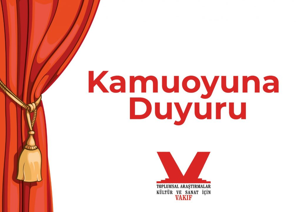 28.10.2020 9. Uluslararası İzmir Tiyatro Festivali Duyurusu